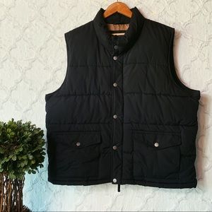 Old Navy Black Puffer Vest